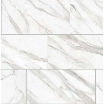 Avante Bianco 12 in. x 24 in. Porcelain Floor and Wall Tile (13.3 sq. ft. / case)
