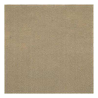 Nexus Tan 12 in. x 12 in. Peel and Stick Carpet Tiles (12 Tiles/Case)