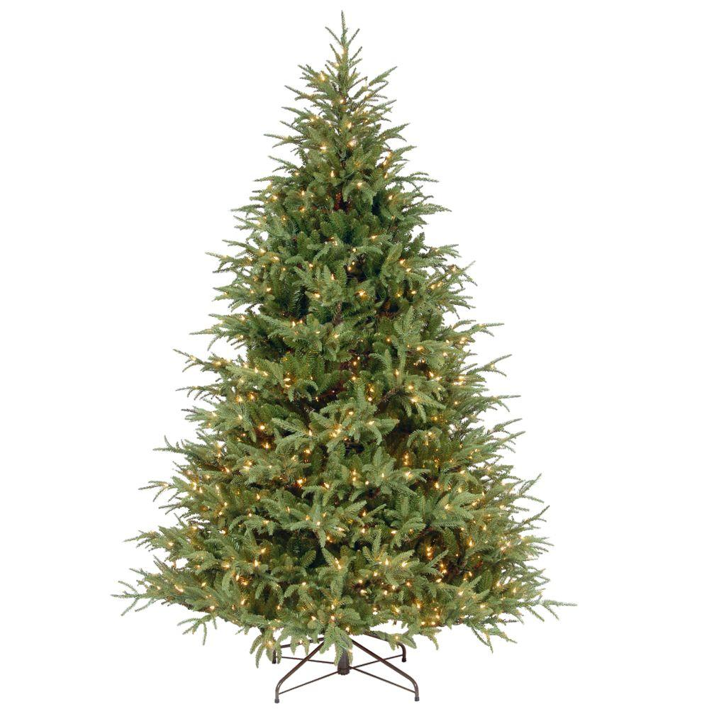 national tree company 75 ft frasier grande artificial christmas tree with clear lights - Frasier Christmas Tree
