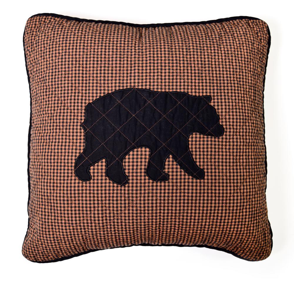 Bear Star Dec Pillow