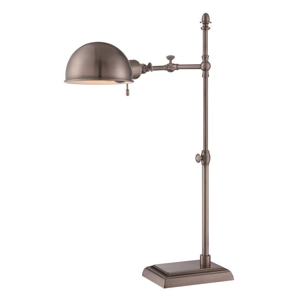 Arden 19 in. Black Desk Lamp