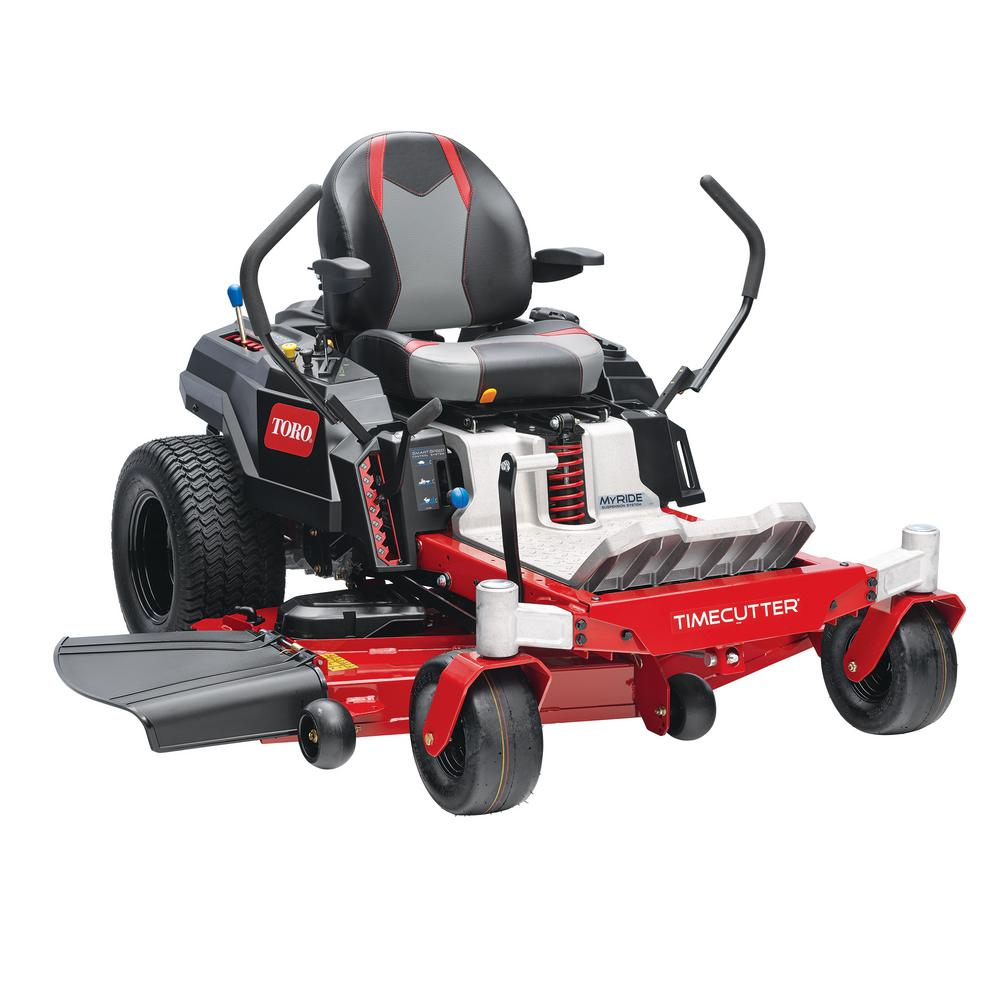 Toro 54 in. TimeCutter IronForged Deck 24.5 HP Commercial V-Twin Gas Dual Hydrostatic Zero Turn Riding Mower with MyRIDE