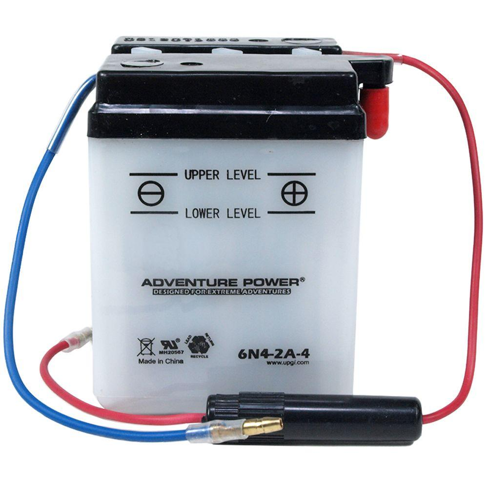 UPG Conventional Dry Pack 6-Volt 4 Ah Battery