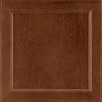 14-9/16x14-1/2 in. Cabinet Door Sample in Brookland Cherry Spice