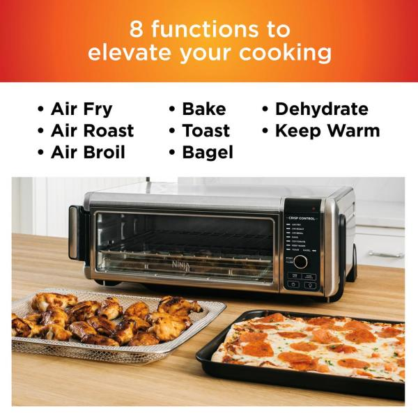 Ninja Stainless Steel Foodi Digital Air Fry Oven Convection Oven