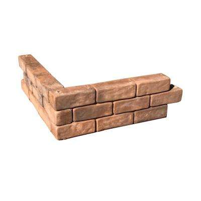 Tumbled Brick Raised Garden Bed (Pack of 4)