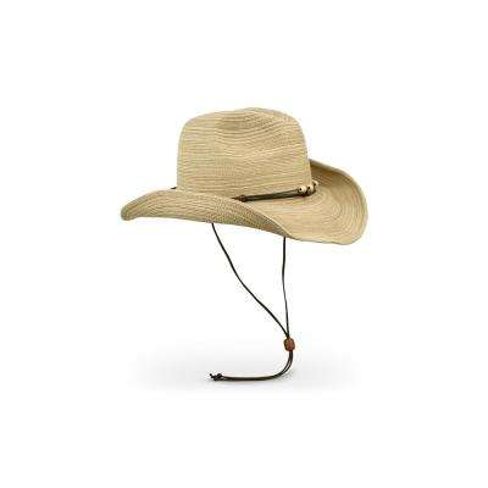 Women's Sunset Polyester Braided Hat Oat