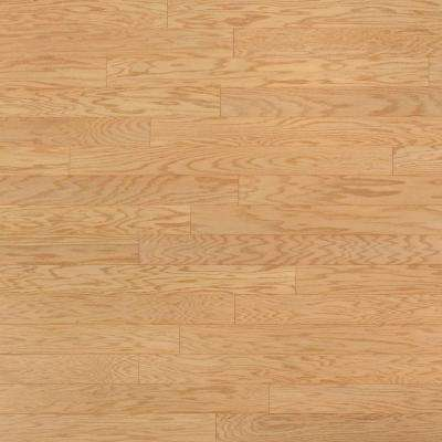 Oak Ivory 3/4 in. Thick x 4 in. Wide x Random Length Solid Real Hardwood Flooring (21 sq. ft. / case)