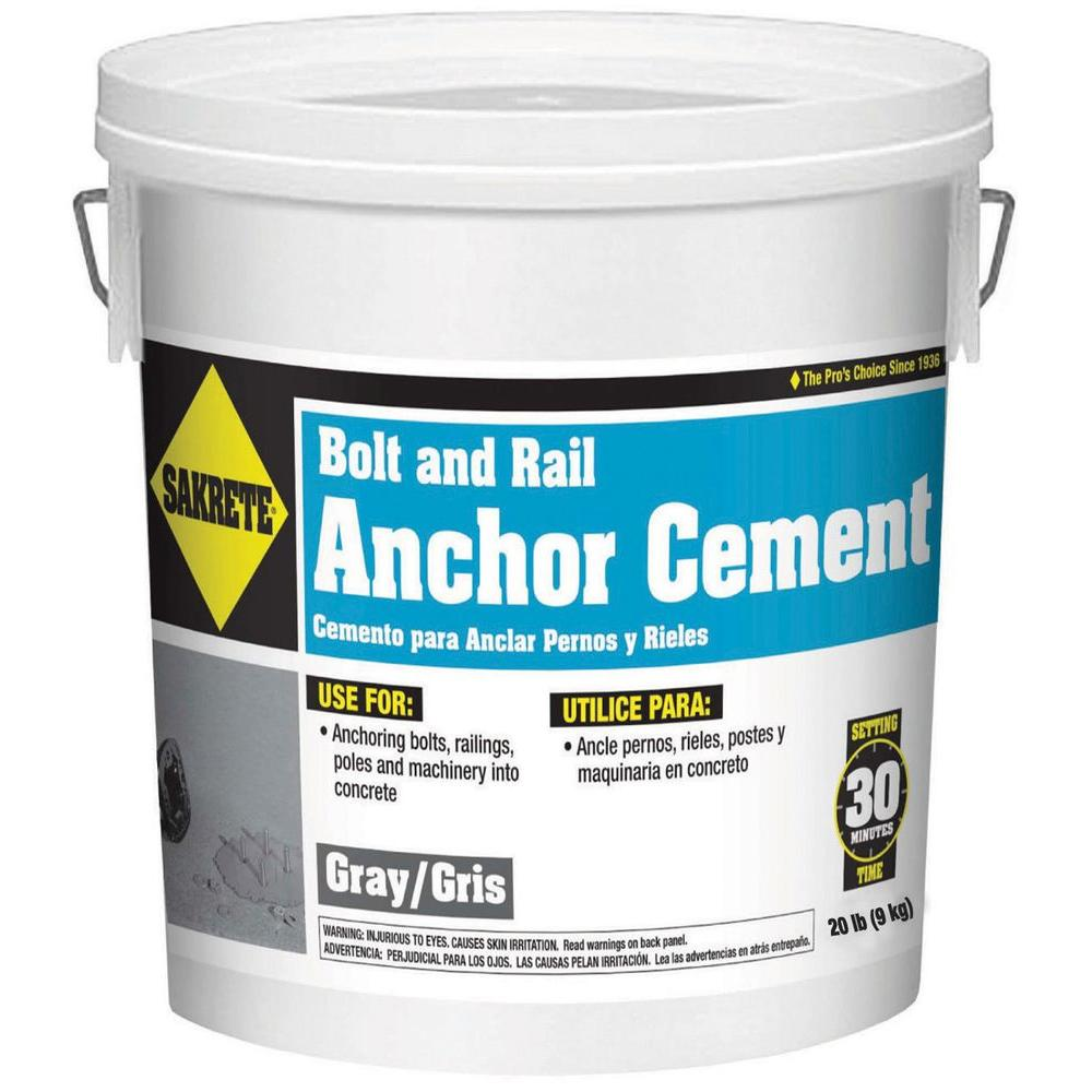 SAKRETE 20 lb. Gray Anchor Cement