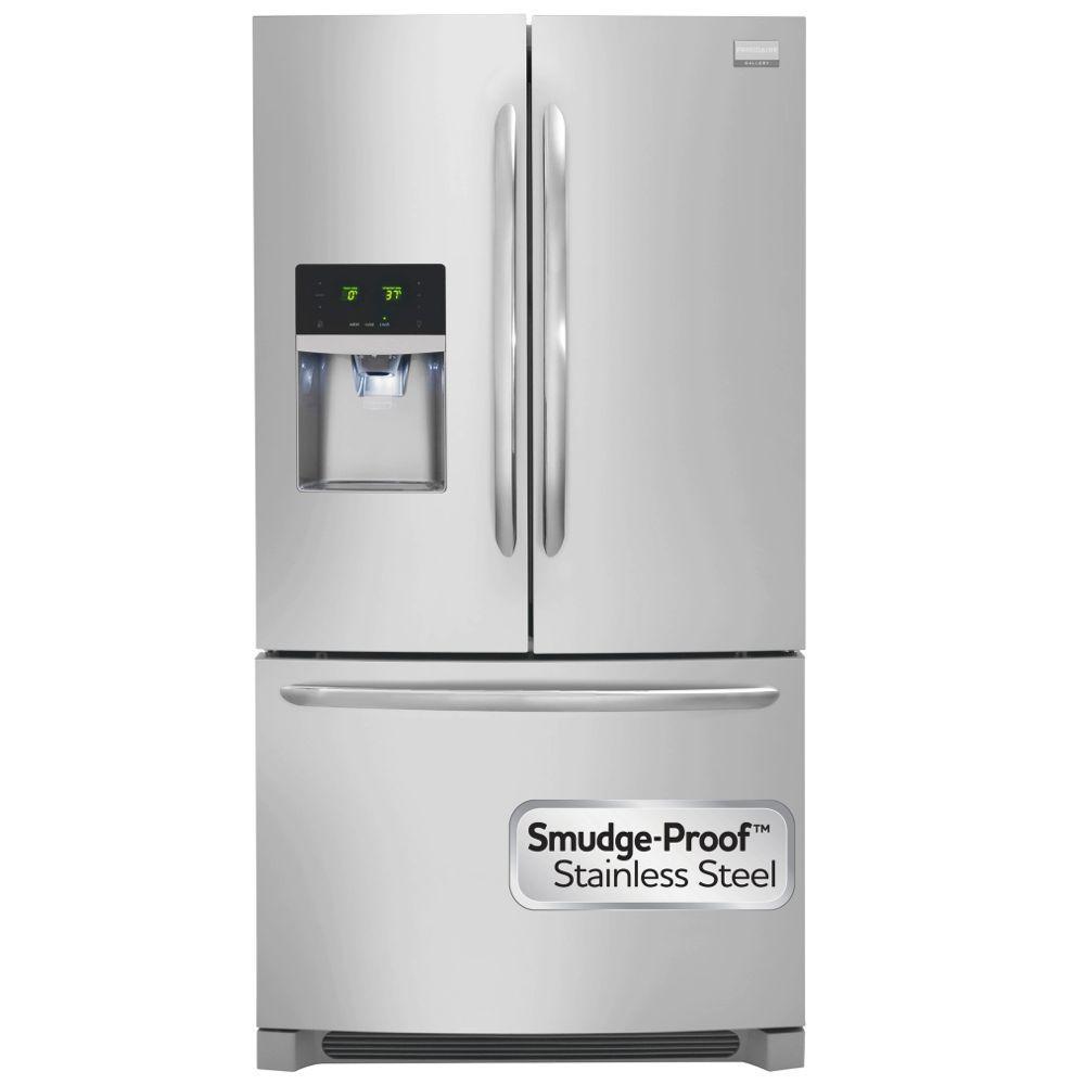 Frigidaire Appliance Logo Frigidaire Gallery 27.2 Cuftfrench Door Refrigerator In