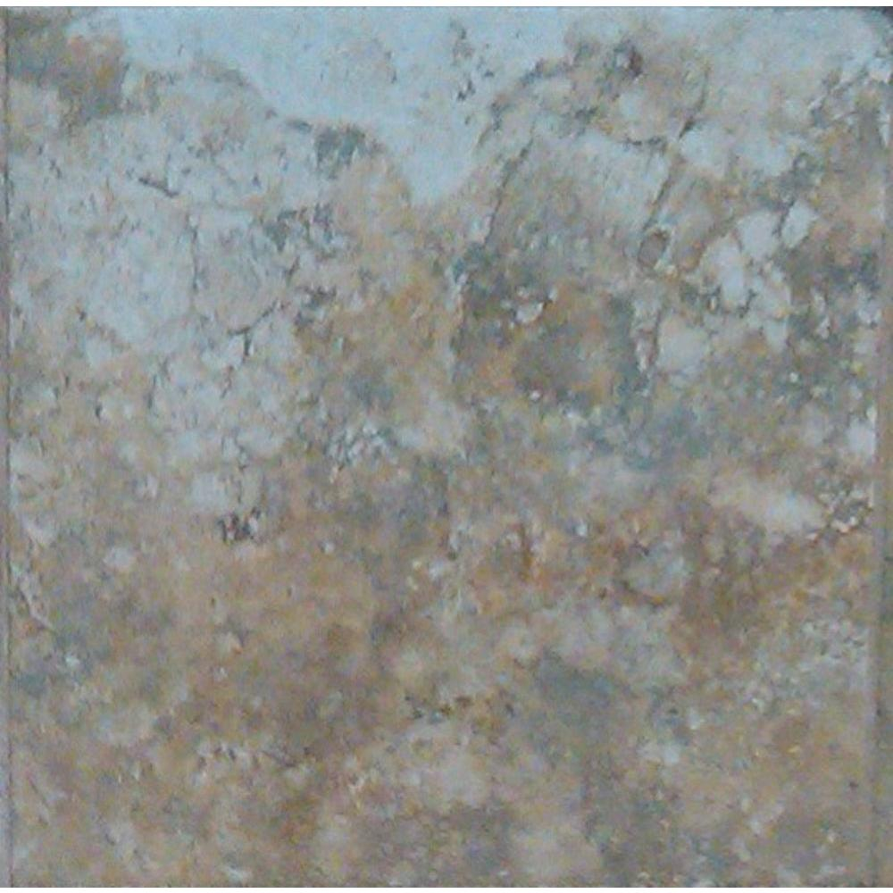 Daltile Pyramid Stone Beige 12 in. x 12 in. Porcelain Floor and Wall ...