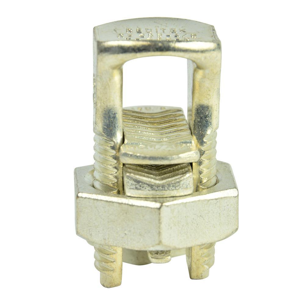 4/0 AWG Aluminum Split Bolt Connector (Case of 10)