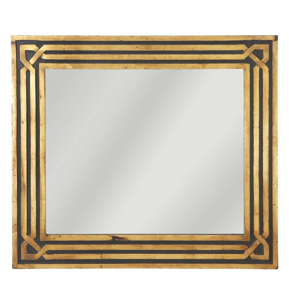 gold framed wall mirror hallway bedroom portrait ornate thic