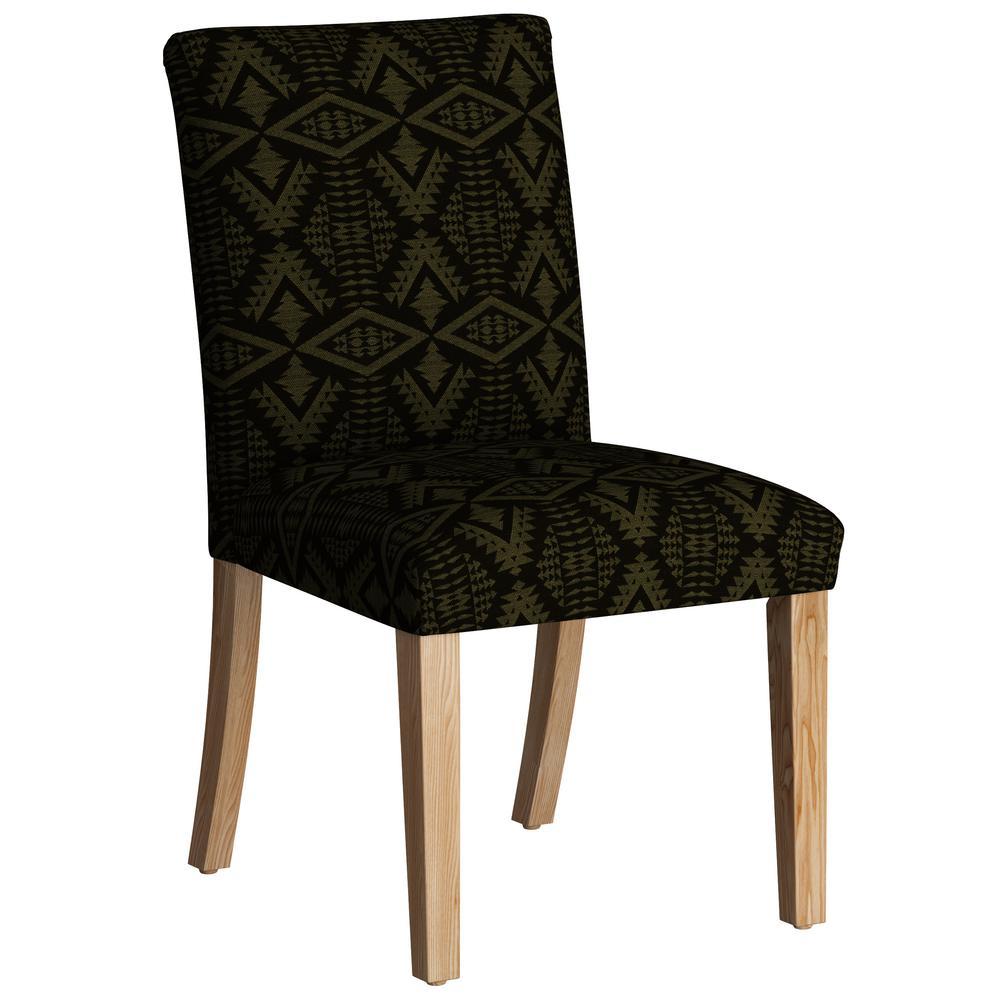 Diamond River Tonal Moss Dining Chair