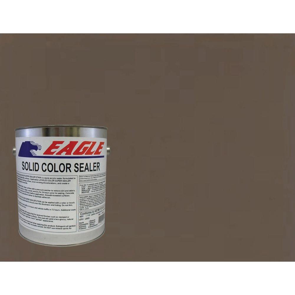 1 gal. Charred Walnut Solid Color Solvent Based Concrete Sealer