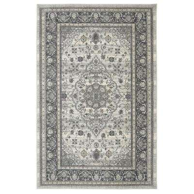 Nevis Willow Grey 5 ft. x 8 ft. Area Rug