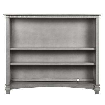 Santa Fe Storm Grey Adjustable Shelf Bookcase