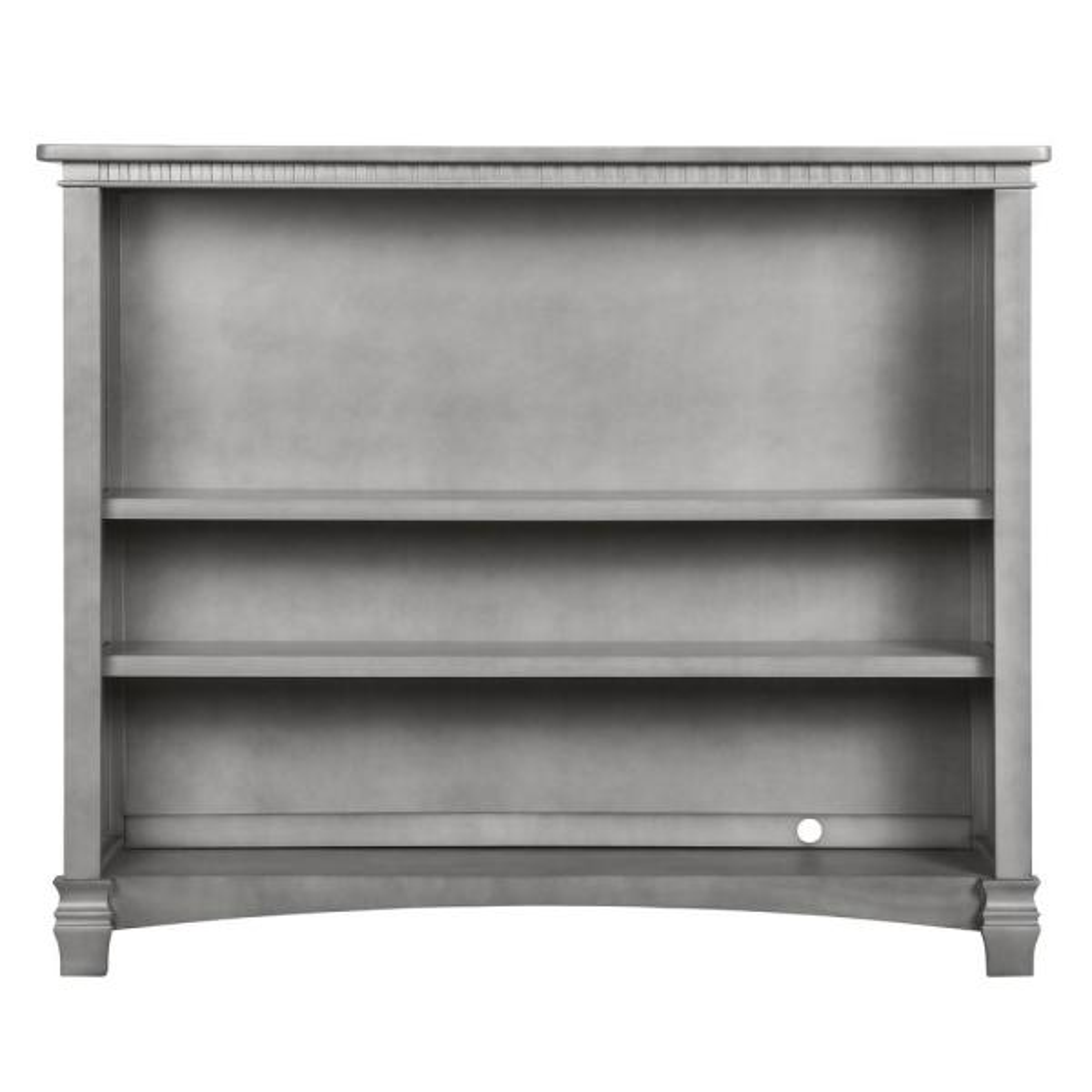 Evolur Santa Fe Storm Grey Adjustable Shelf Bookcase 829-SGY