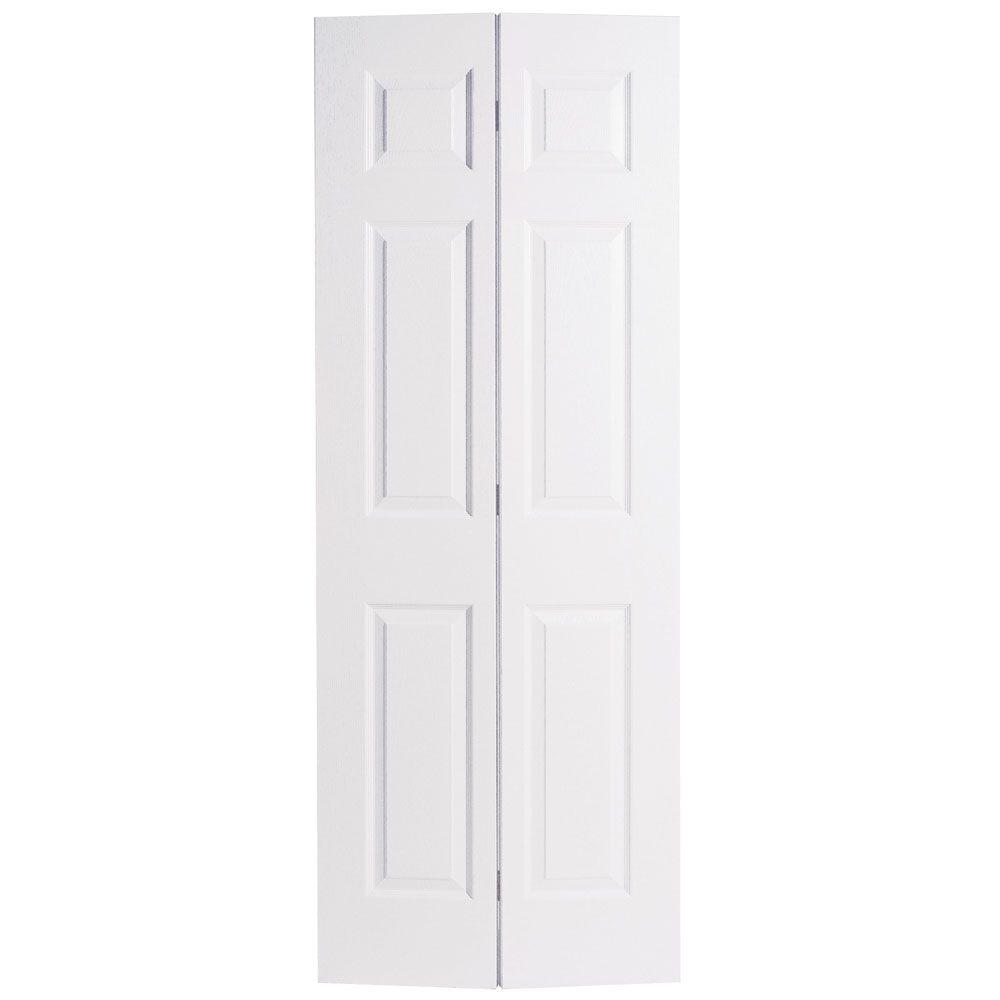 Alternatives To Doors Interiors: 24 In. X 80 In. 6-Panel Primed White Hollow-Core Textured