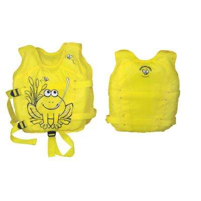 Hungry Frog Swimming Pool Float Vest 3-6 Years Old