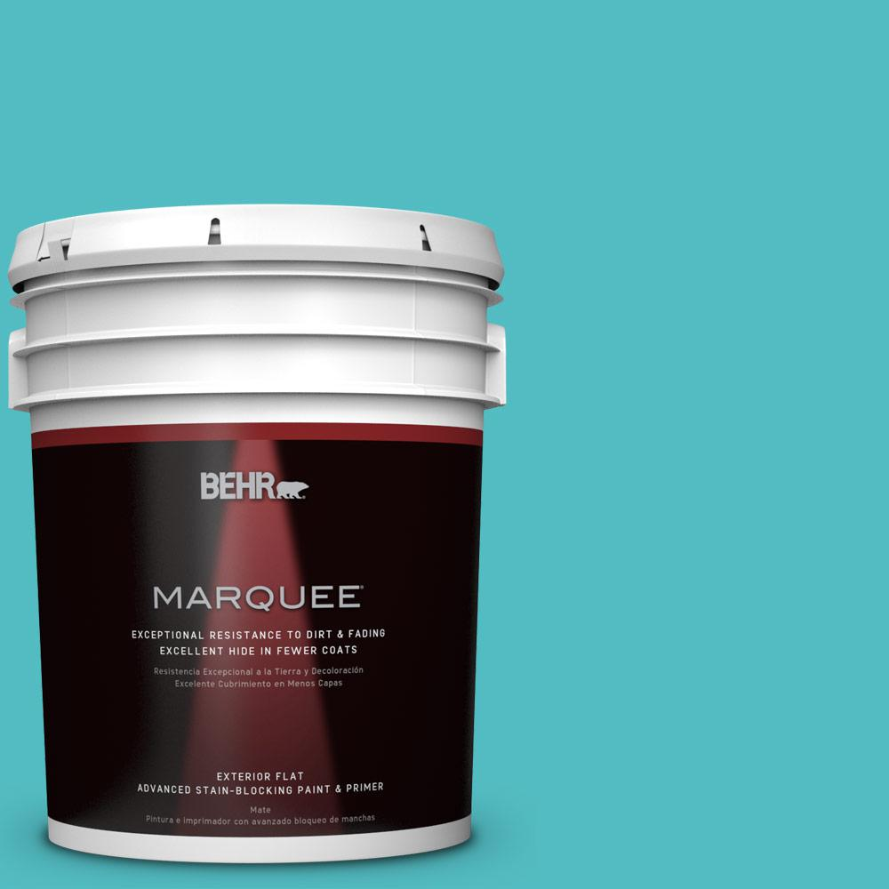 Home Decorators Collection 5-gal. #HDC-WR14-6 North Wind Flat Exterior Paint