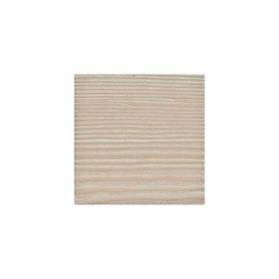 6 in. x 6 in. Sandstone Whitewash Endurathane Faux Wood Ceiling Beam Material Sample