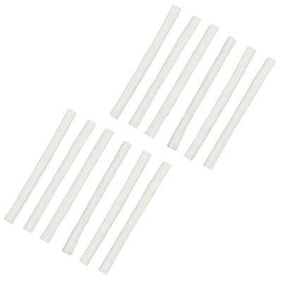 Replacement Fiberglass Wicks for Outdoor Torches and Lamps (12-Pack)