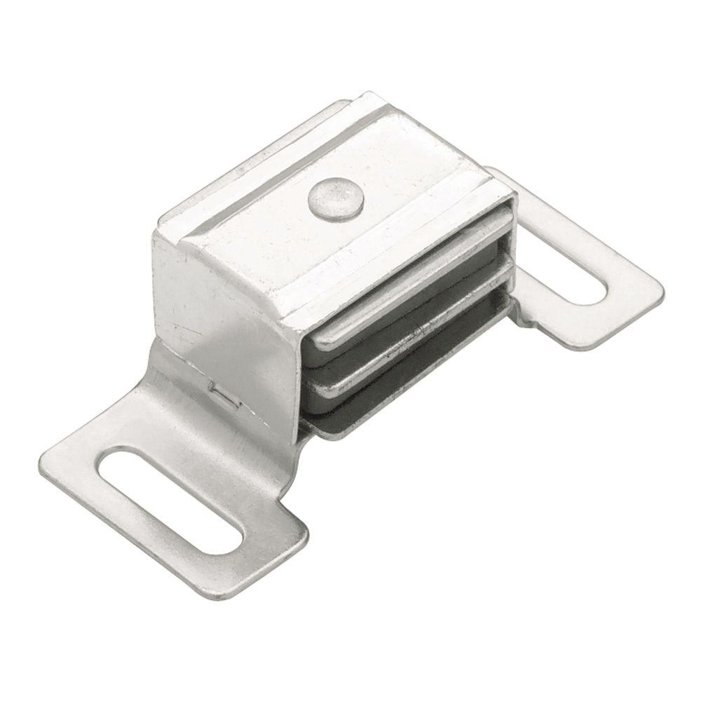 Liberty 2-3/8 in. Aluminum Magnetic Door Catch with Strike
