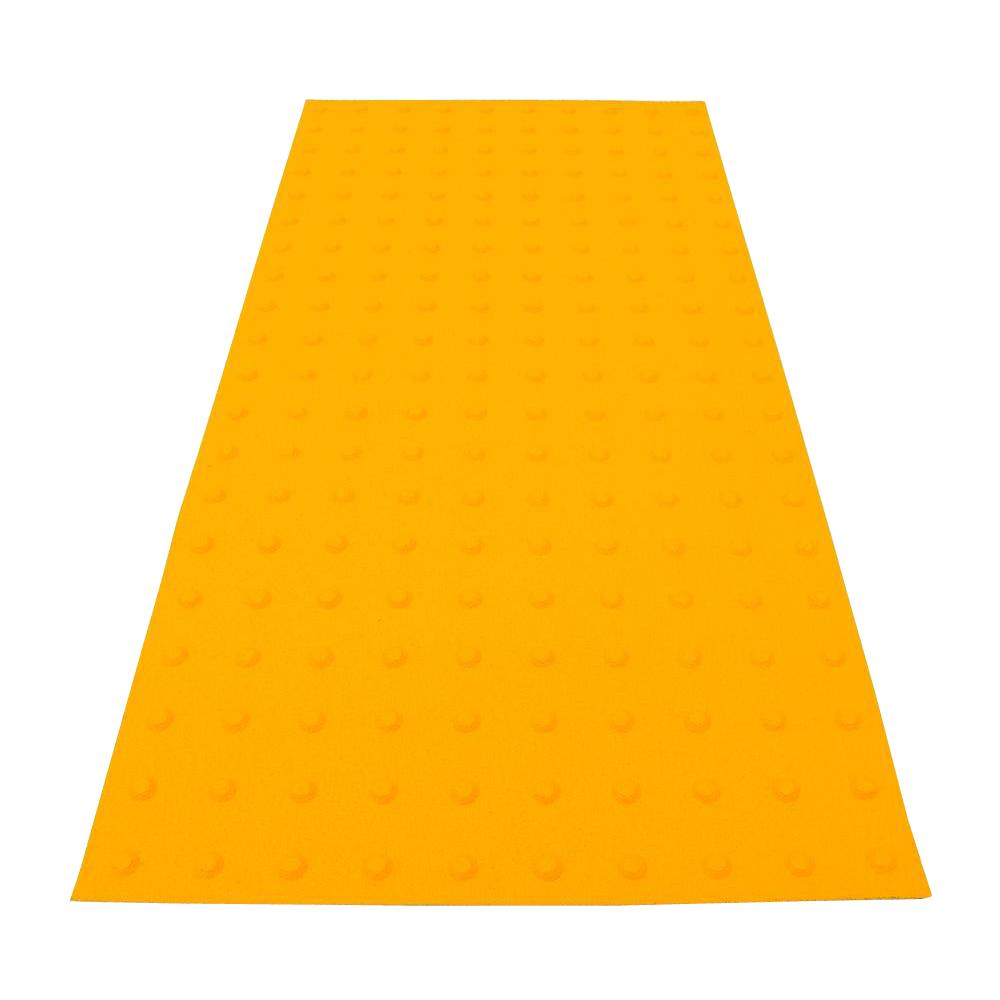 PowerBond 24 in. x 4 ft. Federal Yellow ADA Warning Detectable