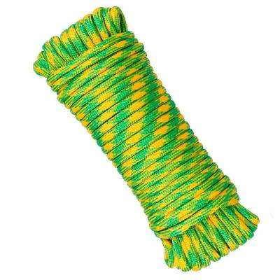 1/8 in. x 50 ft. Polyester and Nylon Strand Rope - Green