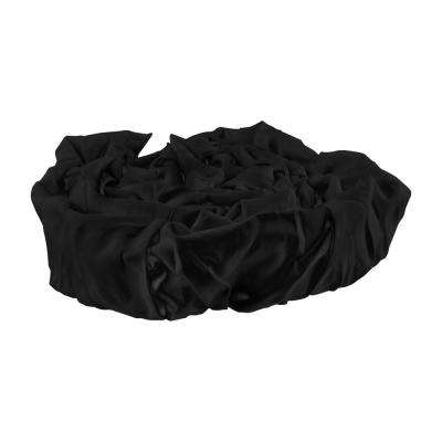 6 ft. Decor Fabric Cord Cover, Black