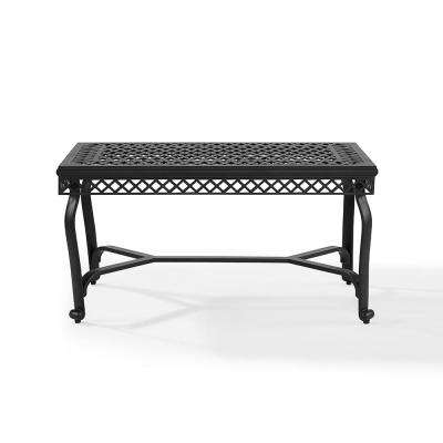 Portofino Cast Aluminum Outdoor Coffee Table