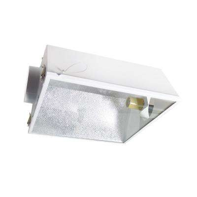 Large Air Cooled with 6 in. Duct and Glass Panel Grow Light Reflector for up to 1000-Watt
