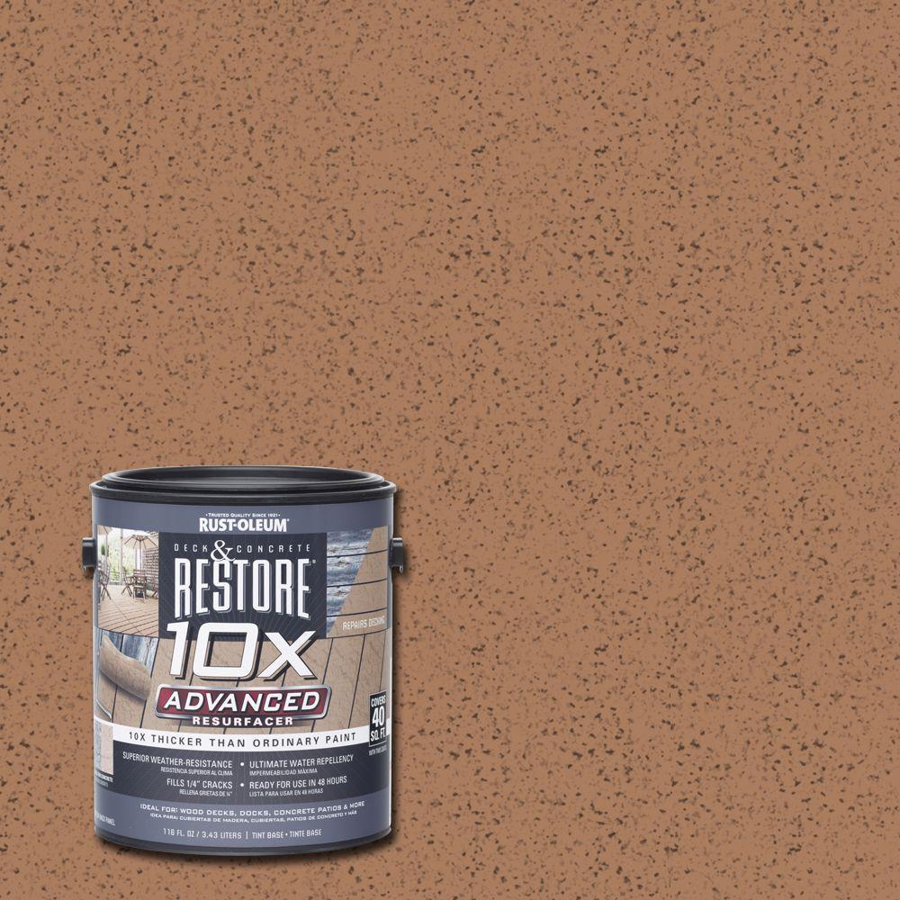 1 gal. 10X Advanced Santa Fe Deck and Concrete Resurfacer