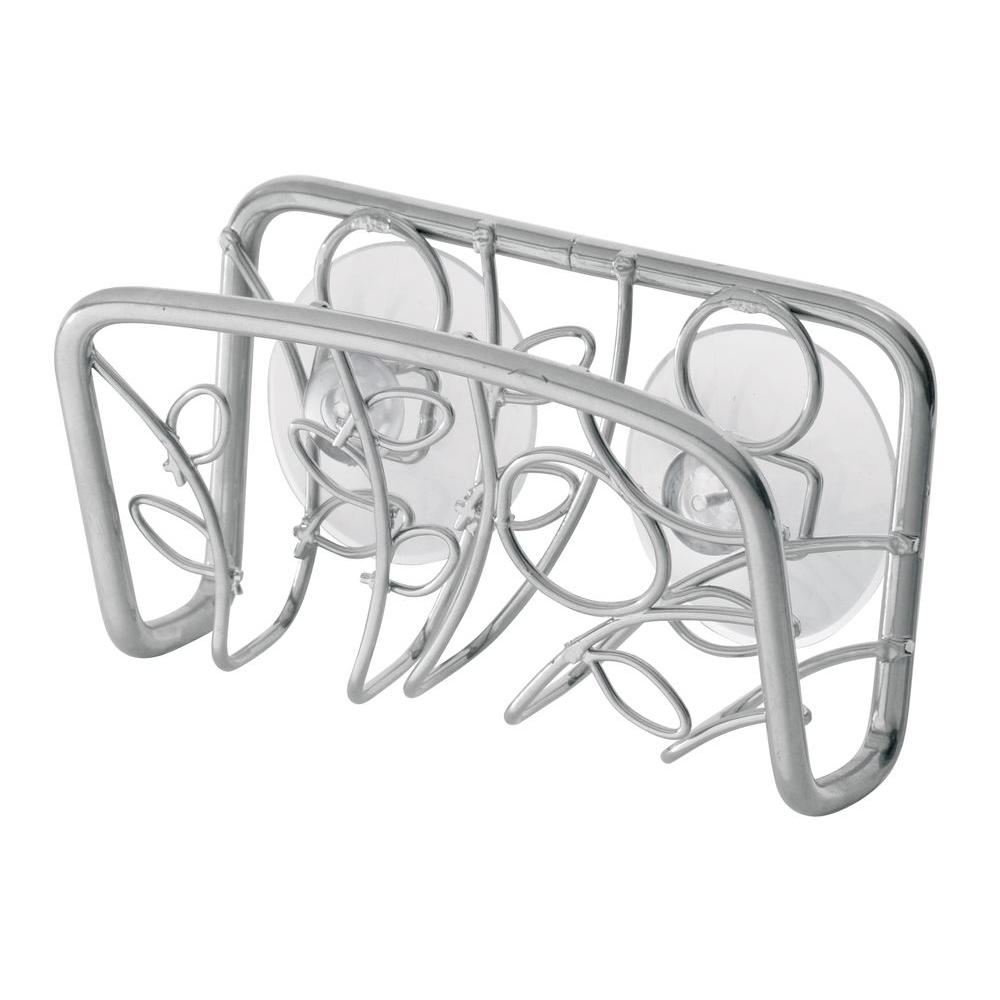 Twigz Suction Sink Cradle in Silver