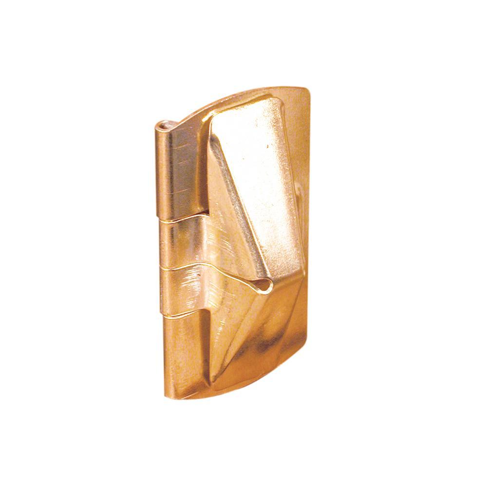 Brass Double-Hung Wood Window Flip Lock
