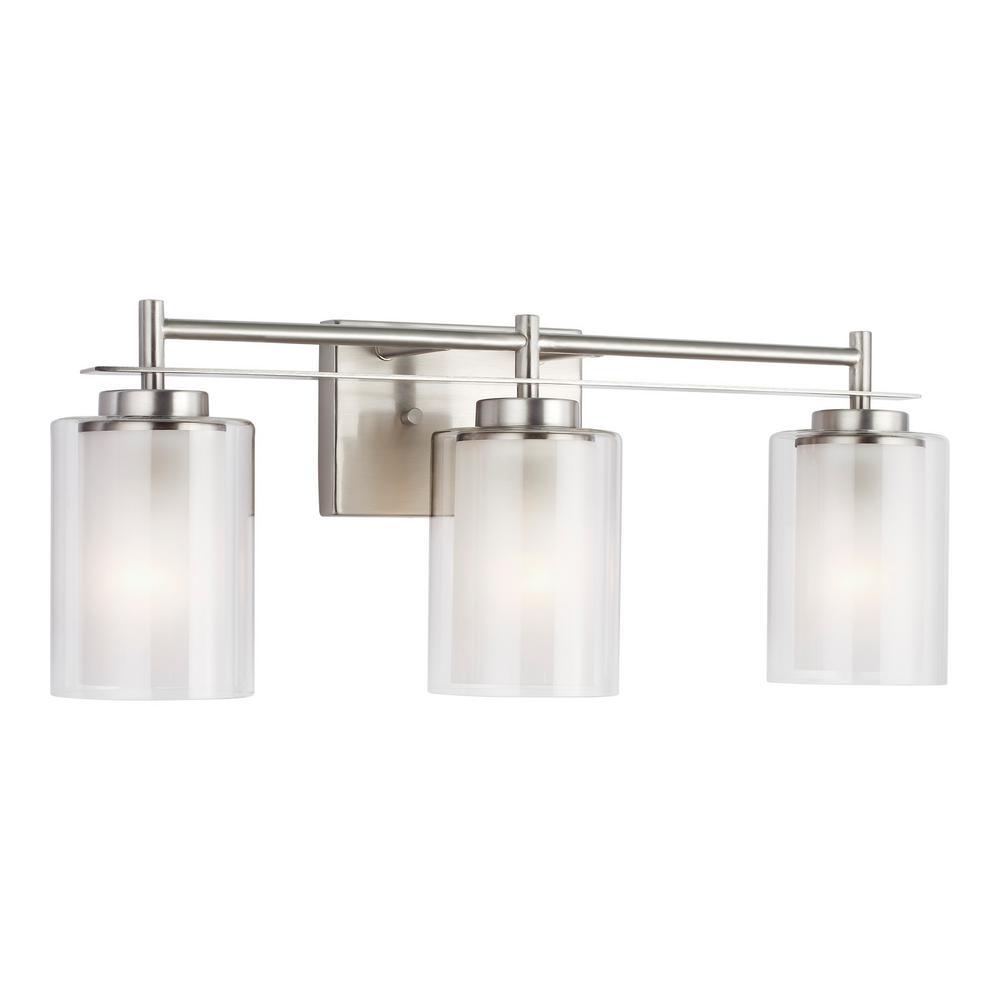 Wall Fixtures Sea Gull Lighting 4437303 782 Elmwood Park Bathroom Vanity Light Heirloom Bronze Alp Prodavnica Rs