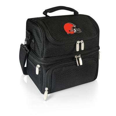 Pranzo Black Cleveland Browns Lunch Bag