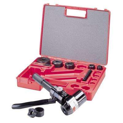 Self-Contained Hydraulic Slug-Out 90 Set 1/2 in. to 2 in. Conduit Size