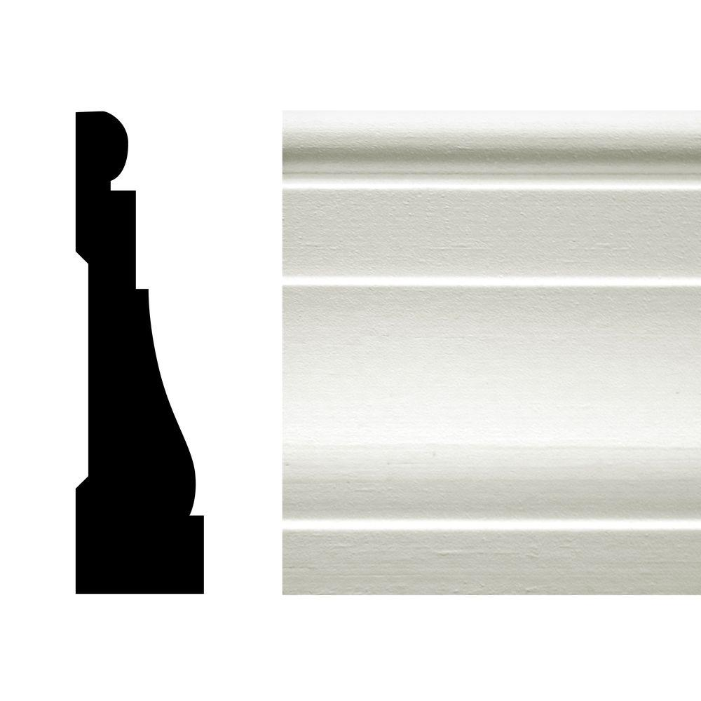 CMPC WM 376 11/16 in. x 2 1/4 in. x 168 in. Pine Primed Finger-Jointed Casing Pro Pack 168 LF (12-Pieces)