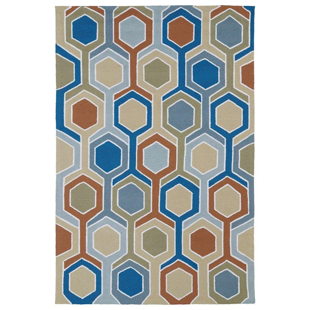 Kaleen Home and Porch Chino 9 ft. x 12 ft. Indoor/Outdoor Area Rug