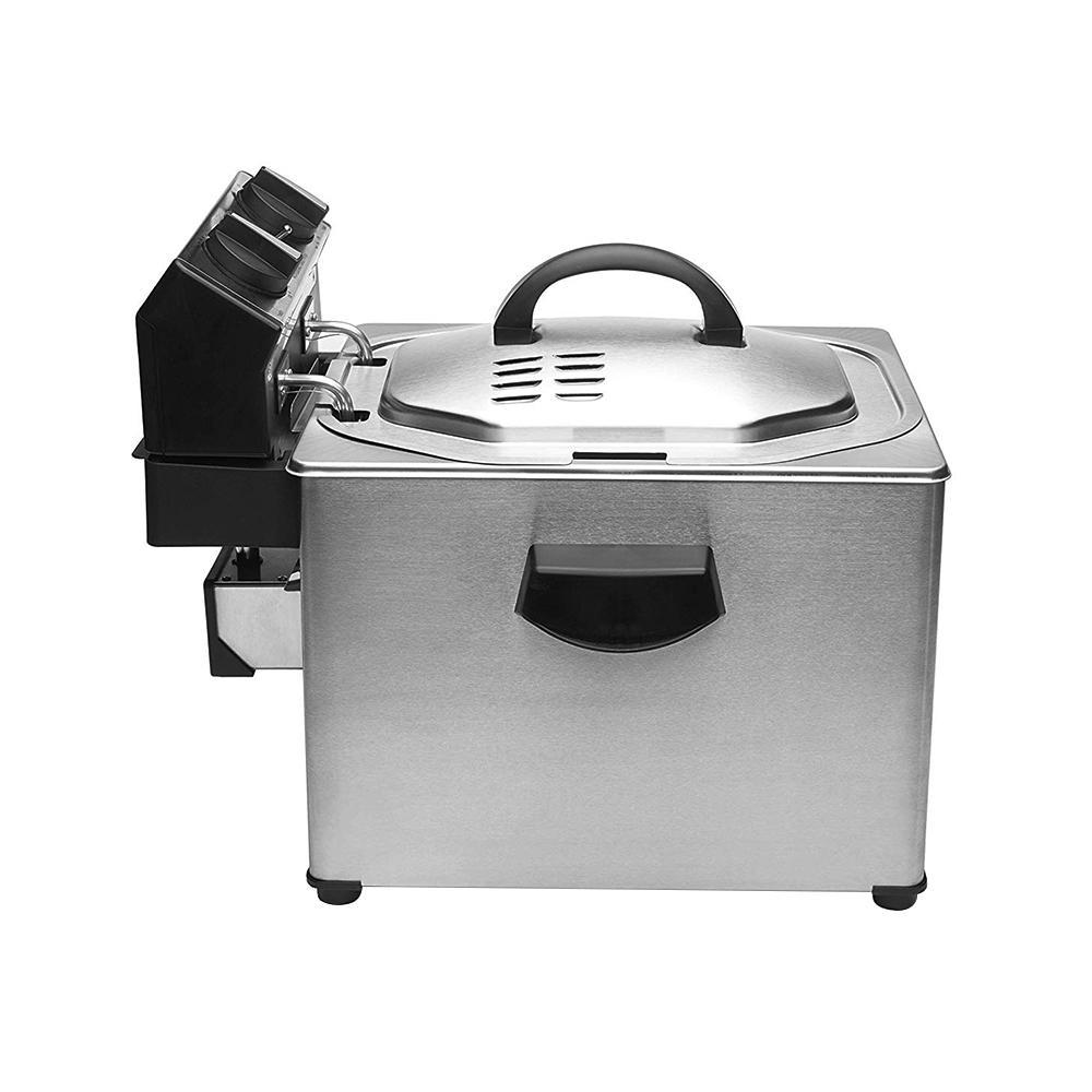 Cuisinart Extra Large Rotisserie Deep Fryer Cdf 500 The Home Depot
