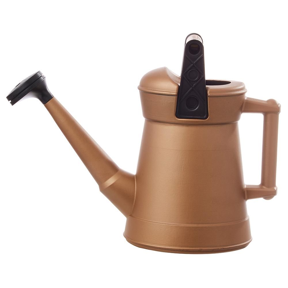 Southern Patio 1.75 Gal. Perfect Pour Copper Watering Can
