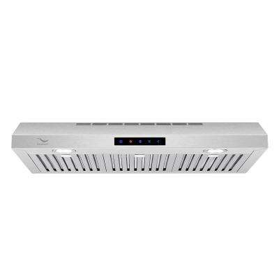 36 in. 480 CFM Ducted Under Cabinet Range Hood in Stainless Steel with Baffle Filters, Touch Screen Control