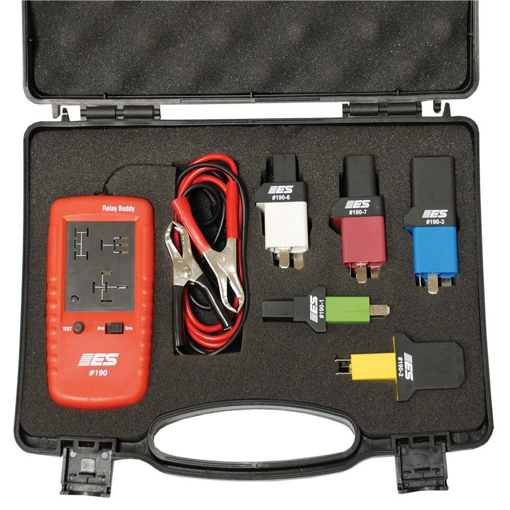 Relay Buddy Pro Test Kit 6 Piece Esi191 The Home Depot Circuit Application