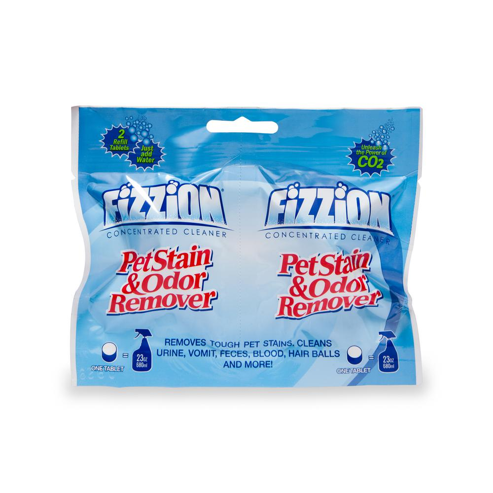 Fizzion 23 oz. 2-Refill Pet Stain and Odor Remover Tablets