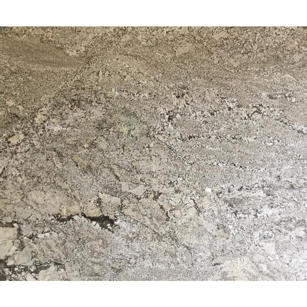 3 in. x 3 in. Granite Countertop Sample in Zanzibar