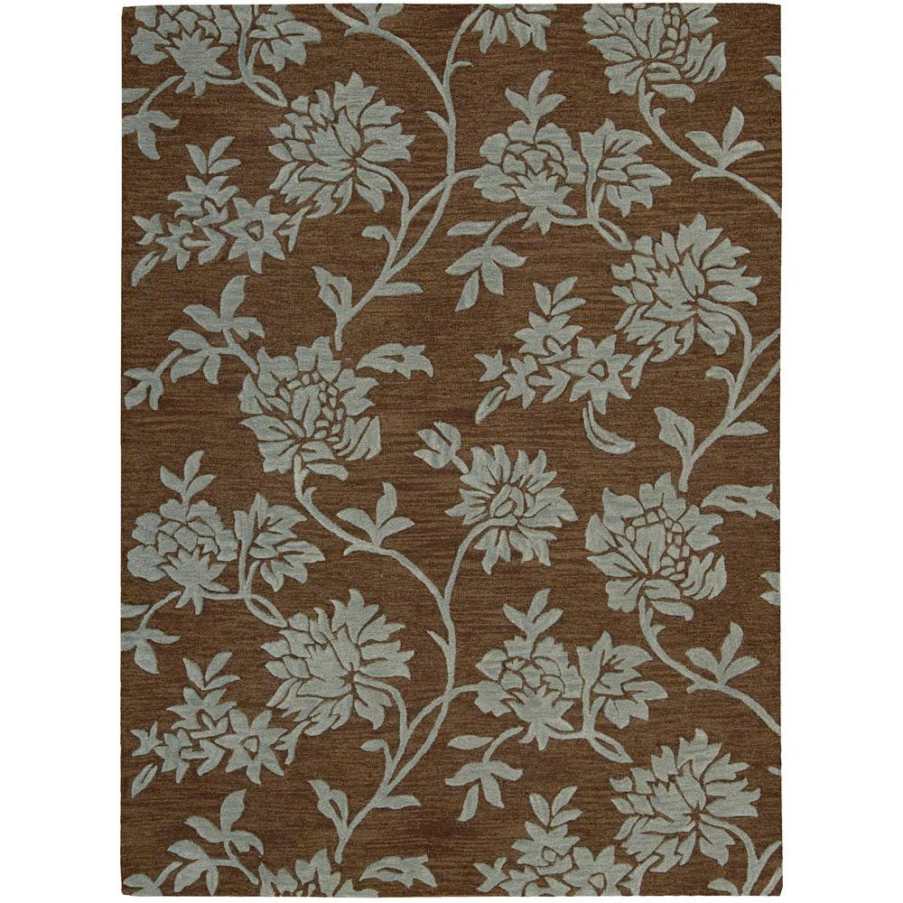 Skyland Chocolate 5 ft. 6 in. x 7 ft. 5 in.