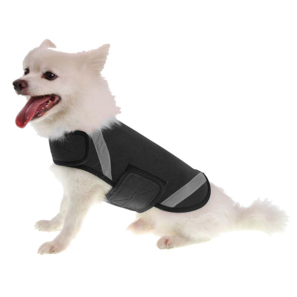 Medium Black Extreme Neoprene Multi-Purpose Protective Shell Dog Coat
