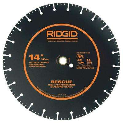 14 in. Rescue Diamond Blade